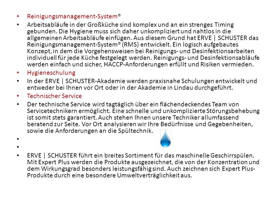 Reinigungsmanagement-System®