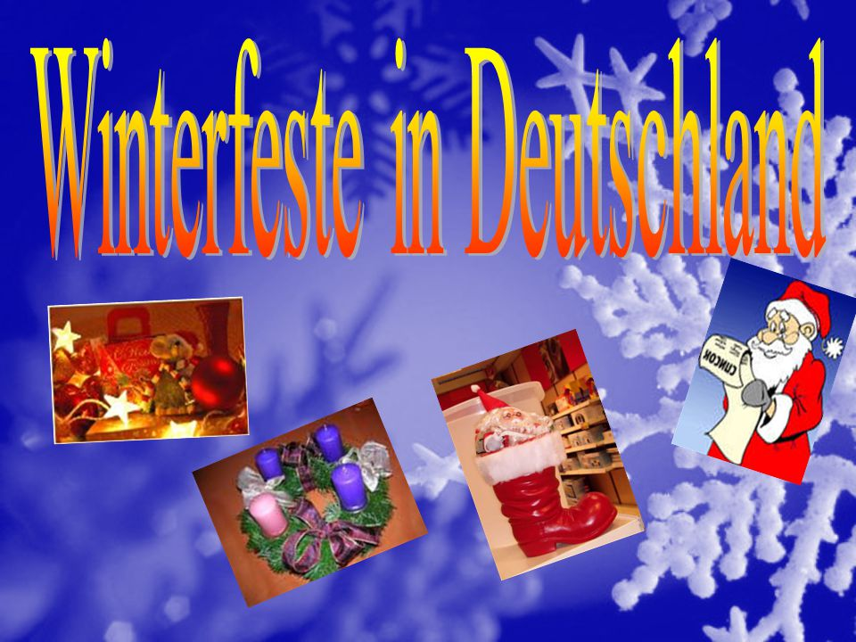 Winterfeste in Deutschland