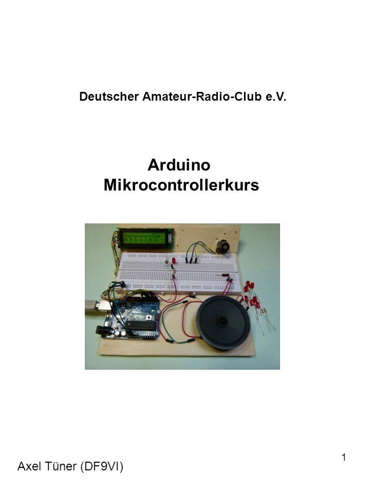 Arduino Mikrocontrollerkurs