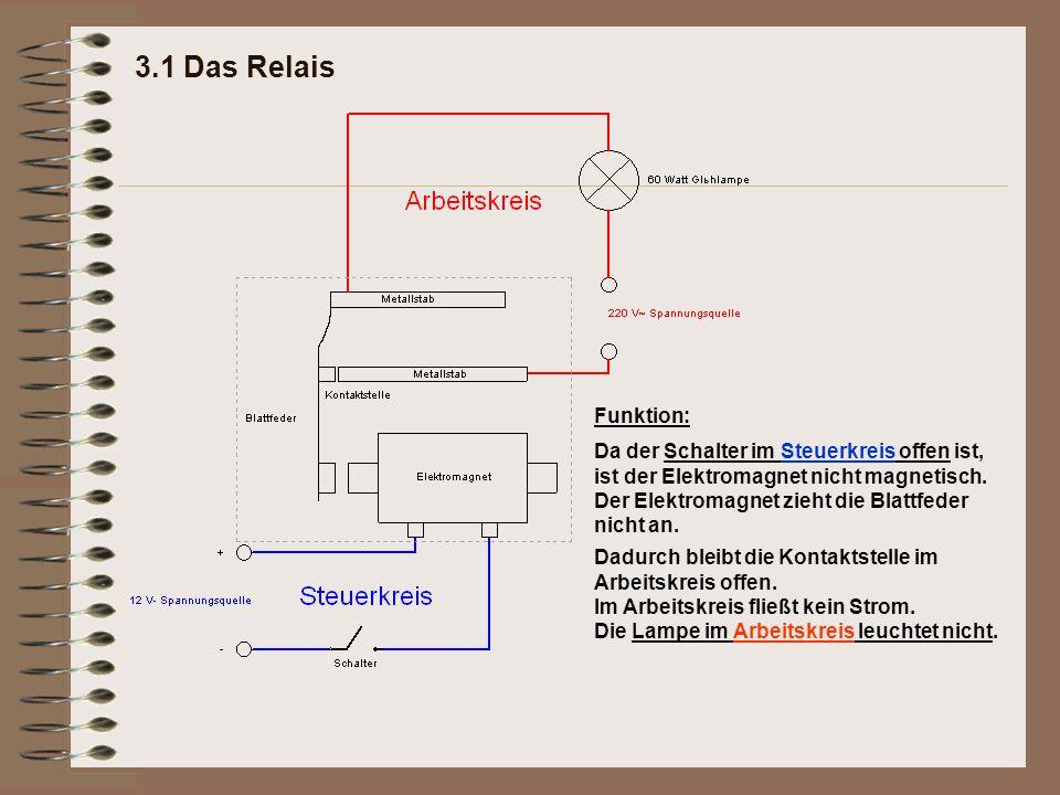 Ziemlich Stromkreis Und Steuerkreis Zeitgenössisch - Elektrische ...