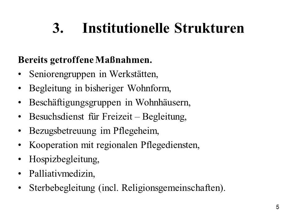 3. Institutionelle Strukturen