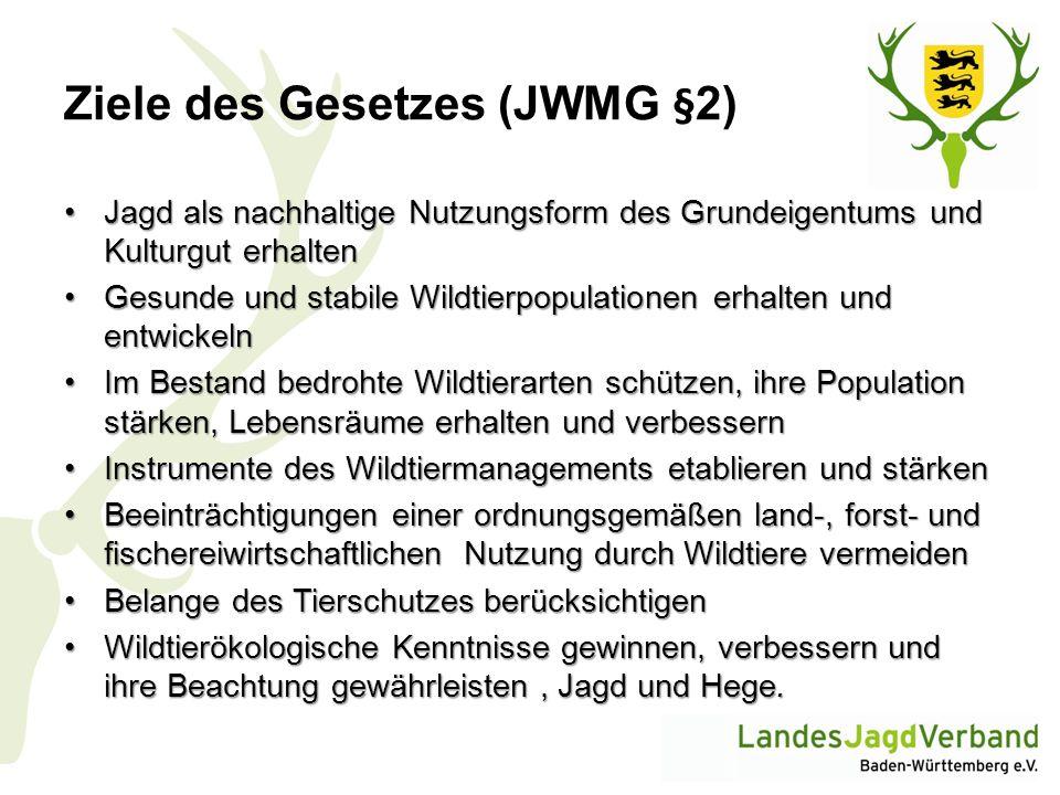 Ziele des Gesetzes (JWMG §2)