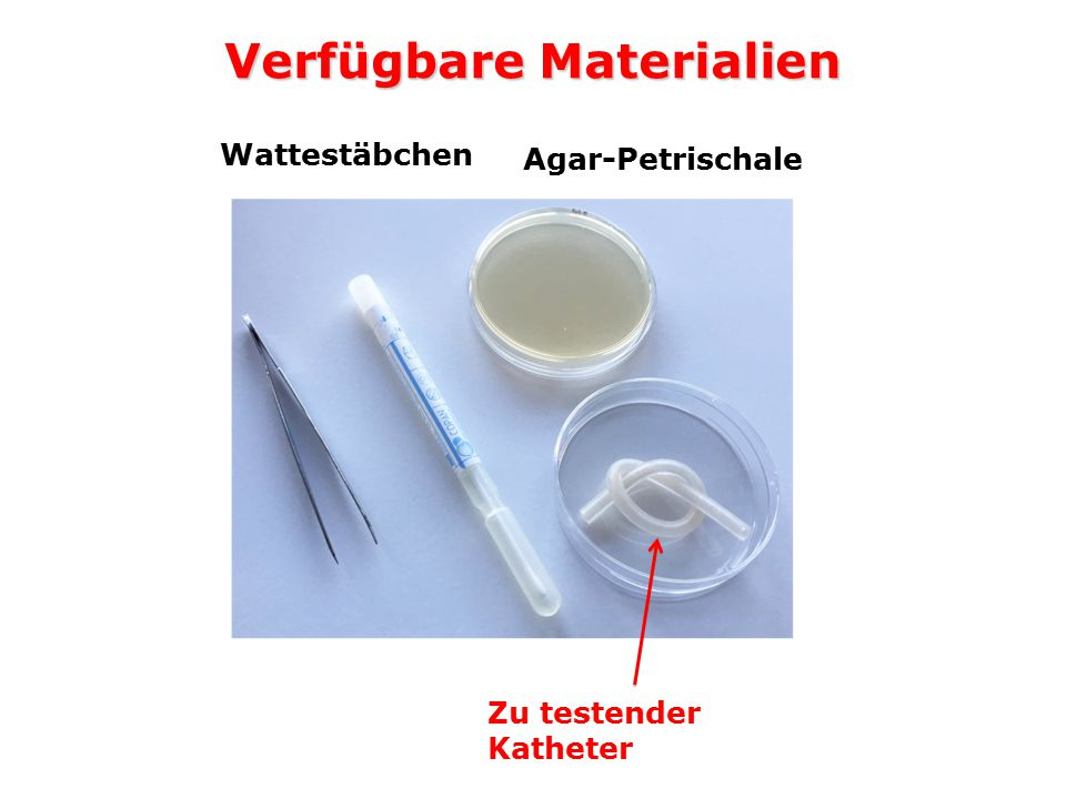 Verfügbare Materialien