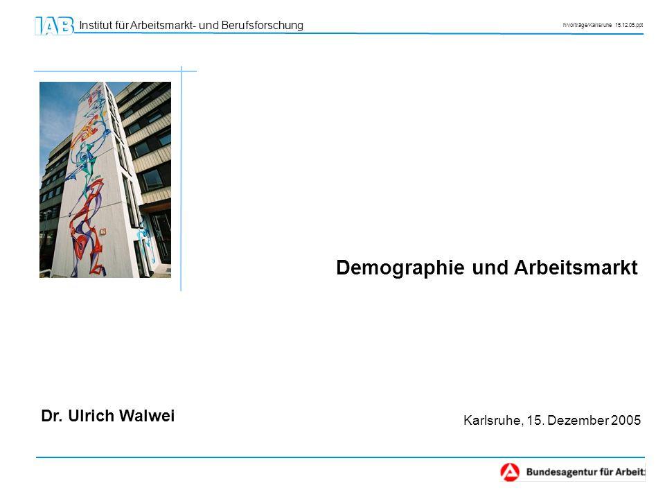 Demographie und Arbeitsmarkt