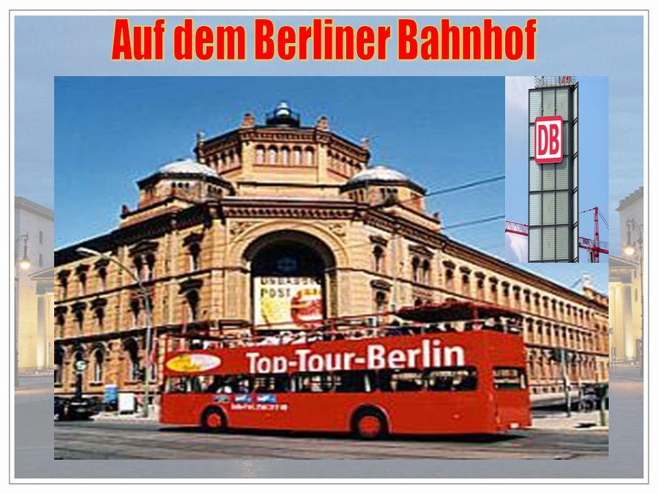 Auf dem Berliner Bahnhof