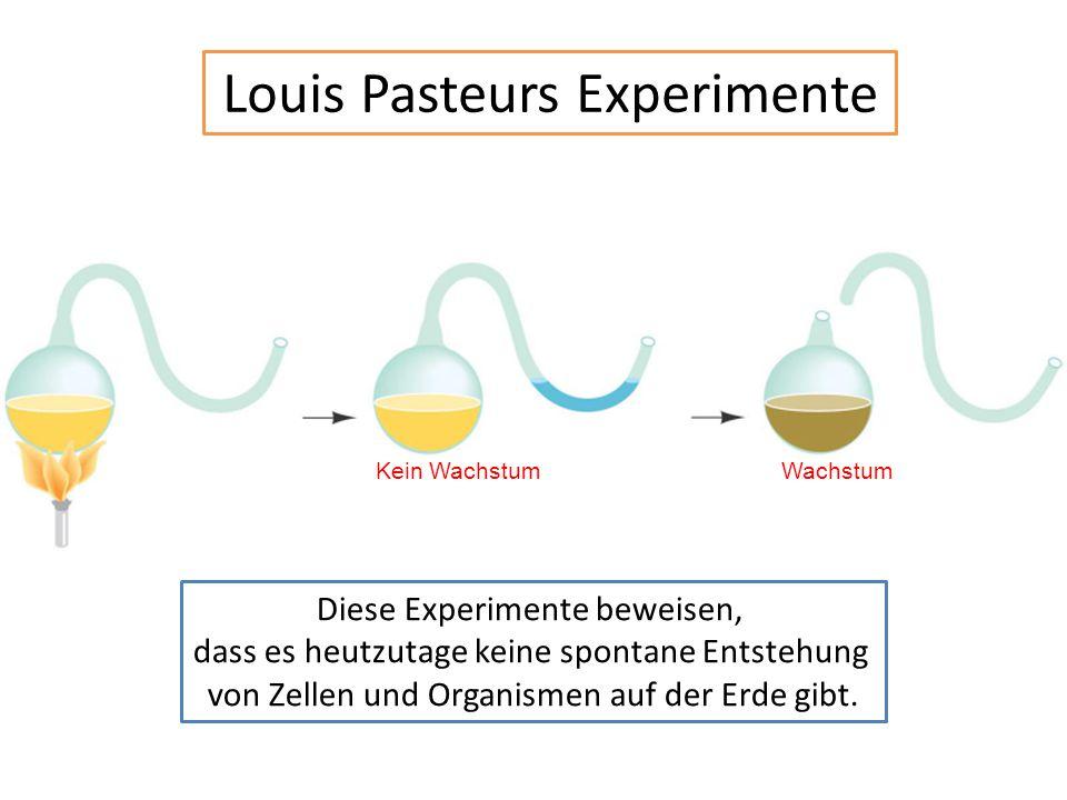 Louis Pasteurs Experimente