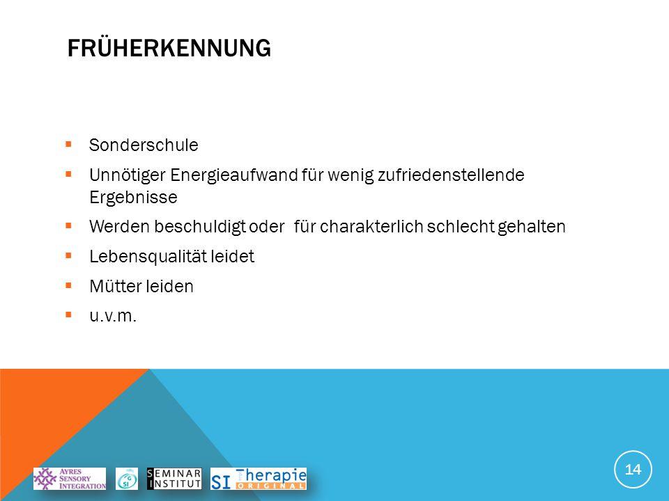 FRÜHERKENNUNG Sonderschule