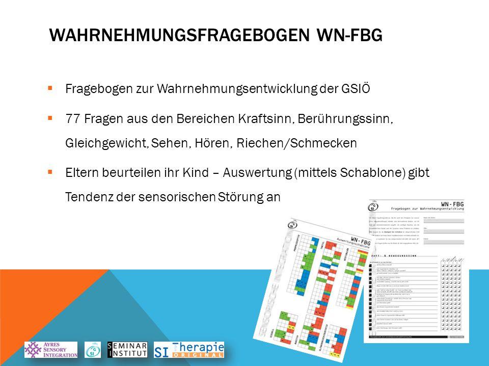 Wahrnehmungsfragebogen WN-FBG