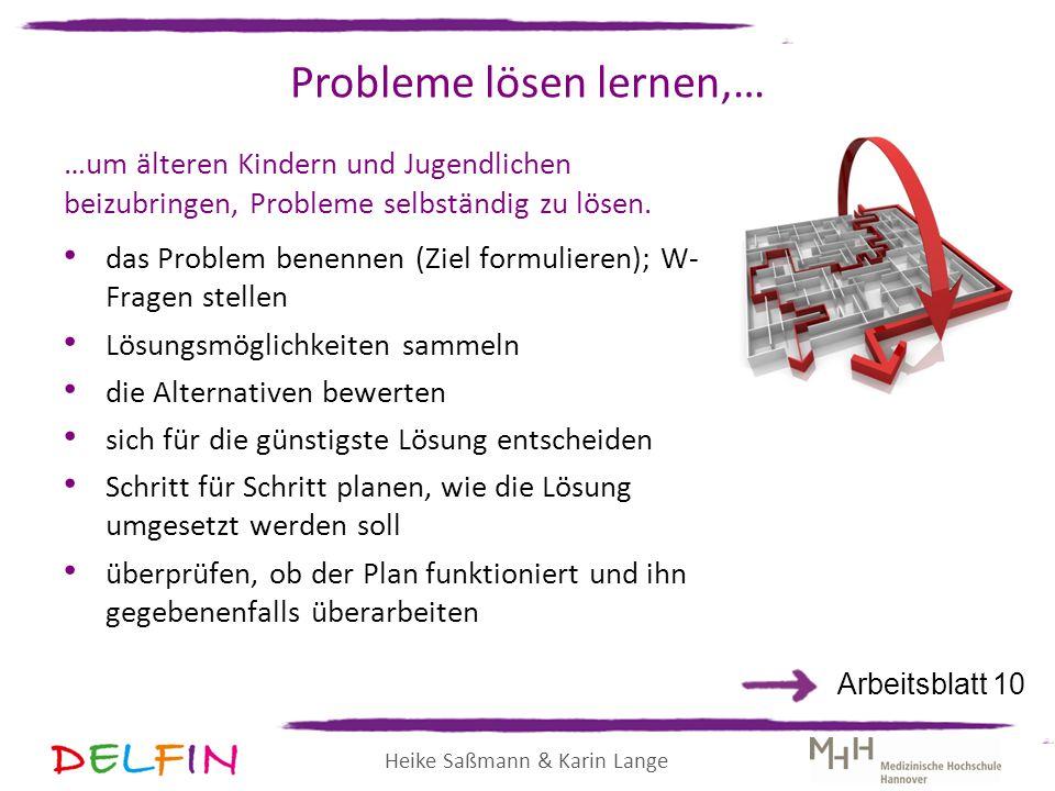 Probleme lösen lernen,…