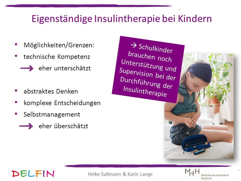 Eigenständige Insulintherapie bei Kindern