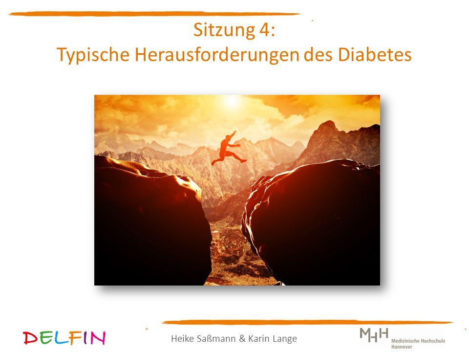 Sitzung 4: Typische Herausforderungen des Diabetes