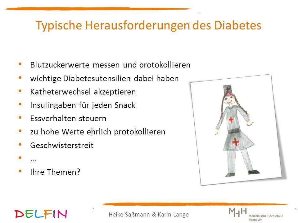 Typische Herausforderungen des Diabetes