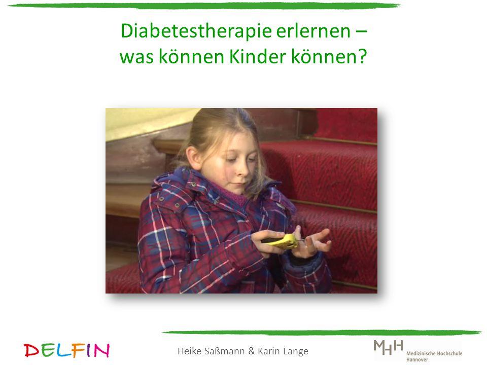 Diabetestherapie erlernen – was können Kinder können