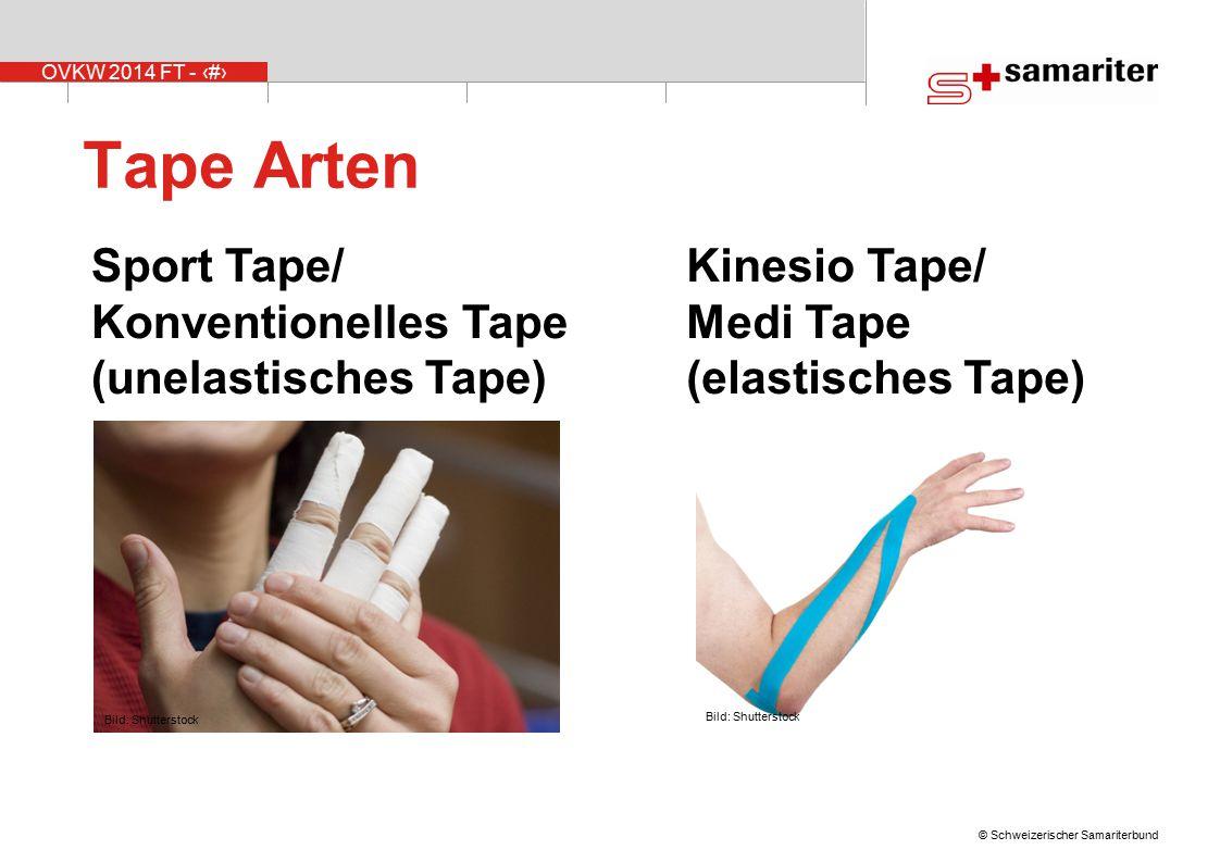 Tape Arten Sport Tape/ Konventionelles Tape (unelastisches Tape)