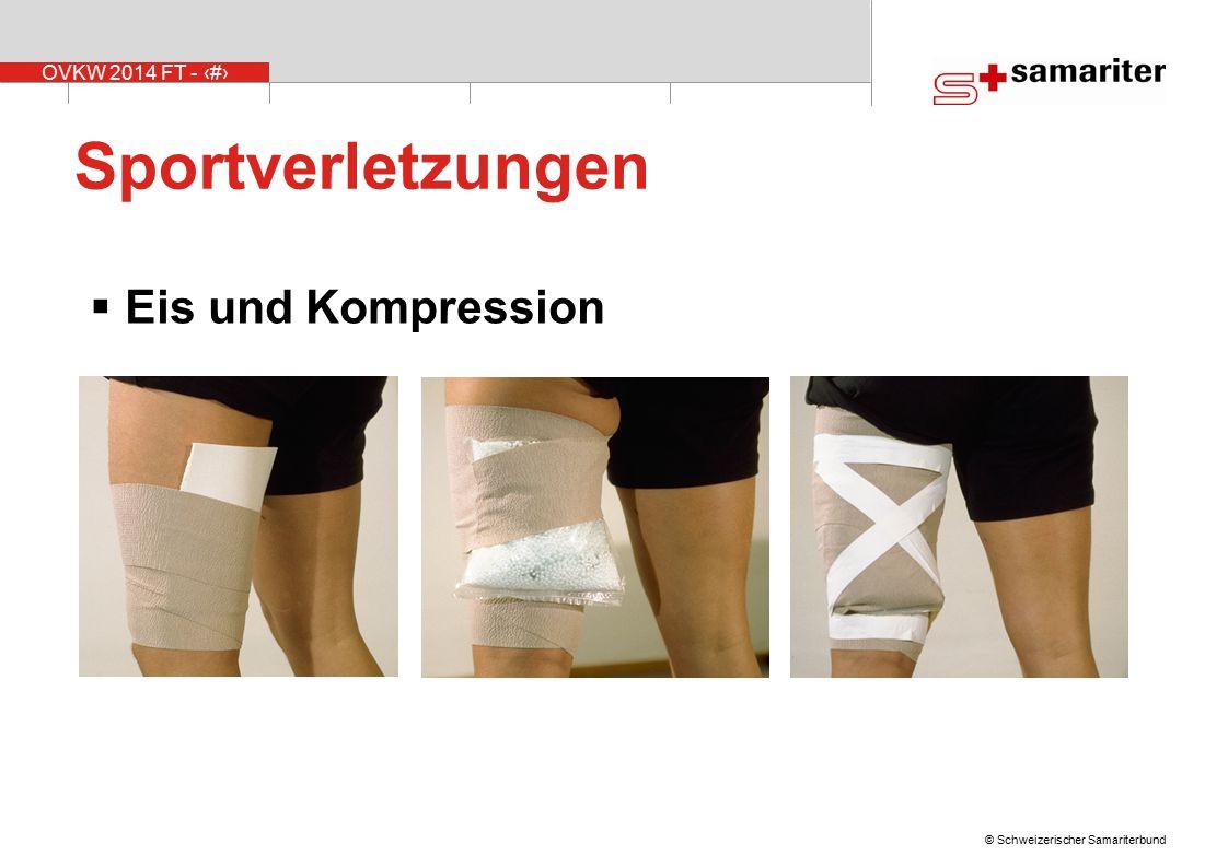 Sportverletzungen Eis und Kompression Erklärungen zum PECH-Schema: