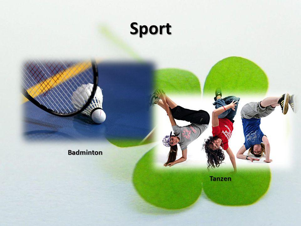 Sport Badminton Tanzen