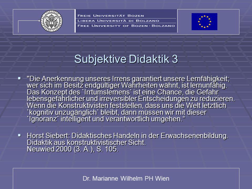 Subjektive Didaktik 3