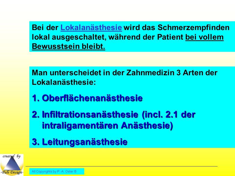 1. Oberflächenanästhesie
