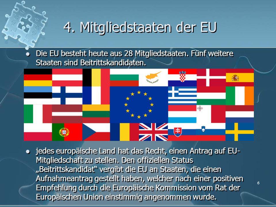 4. Mitgliedstaaten der EU