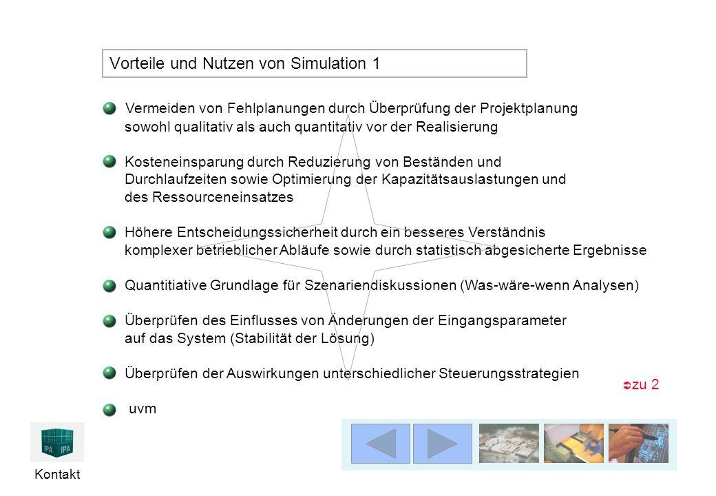 Vorteile und Nutzen von Simulation 1