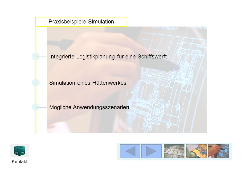Praxisbeispiele Simulation