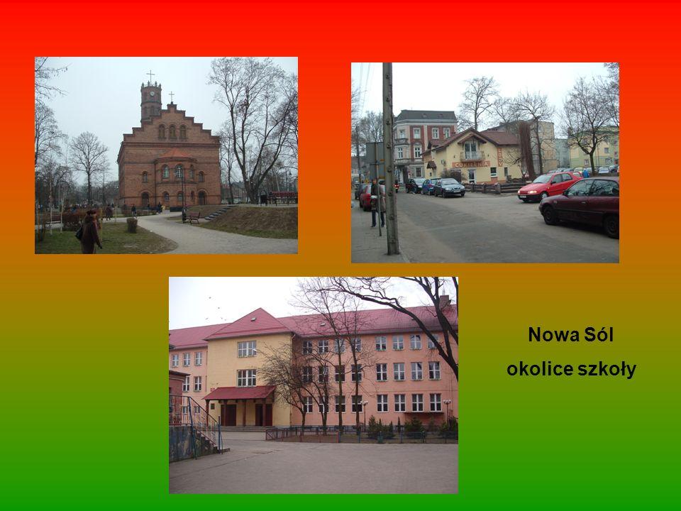 Nowa Sól okolice szkoły