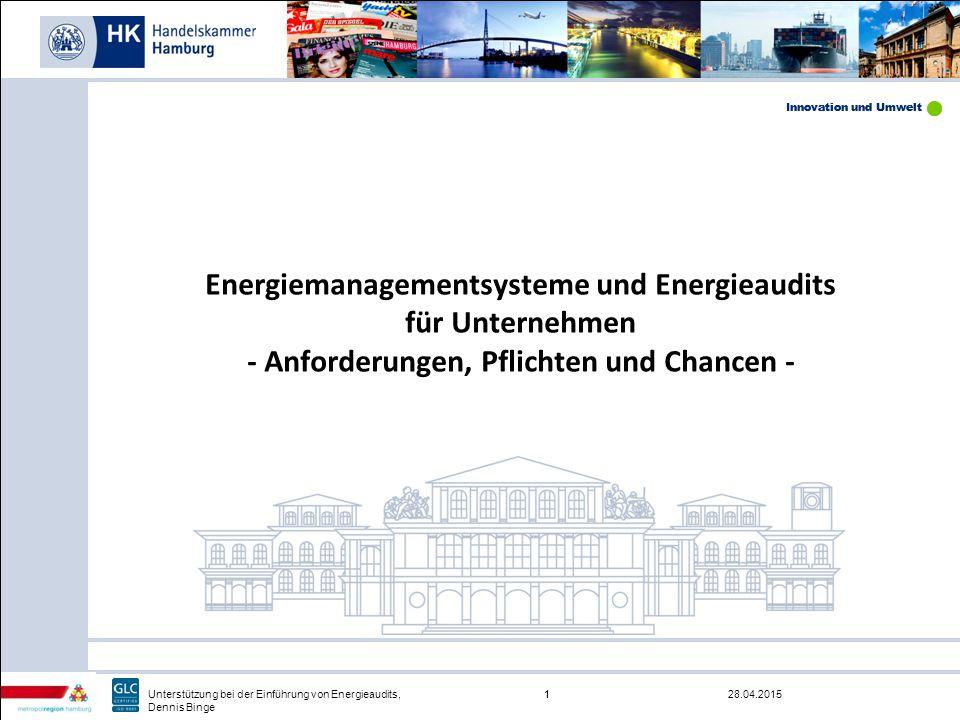 Energiemanagementsysteme und Energieaudits für Unternehmen