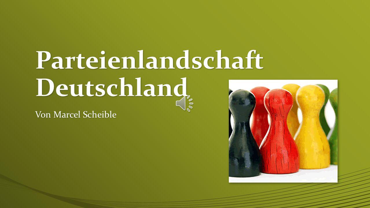 Parteienlandschaft Deutschland
