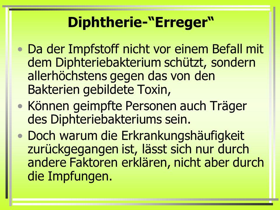 Diphtherie- Erreger