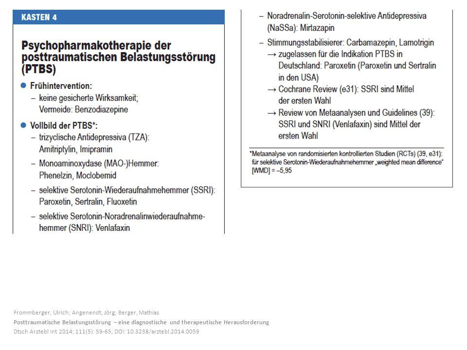 Frommberger, Ulrich; Angenendt, Jörg; Berger, Mathias