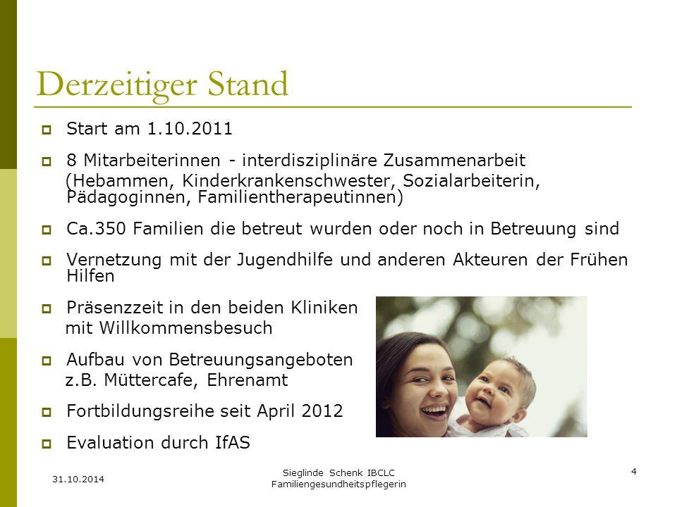 Sieglinde Schenk IBCLC Familiengesundheitspflegerin