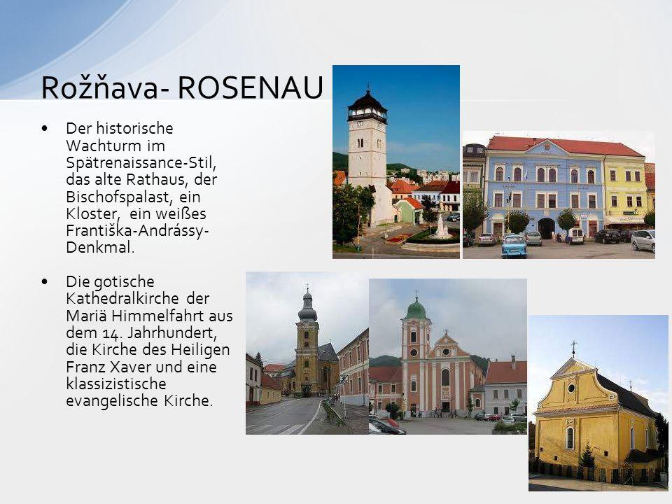 Rožňava- ROSENAU