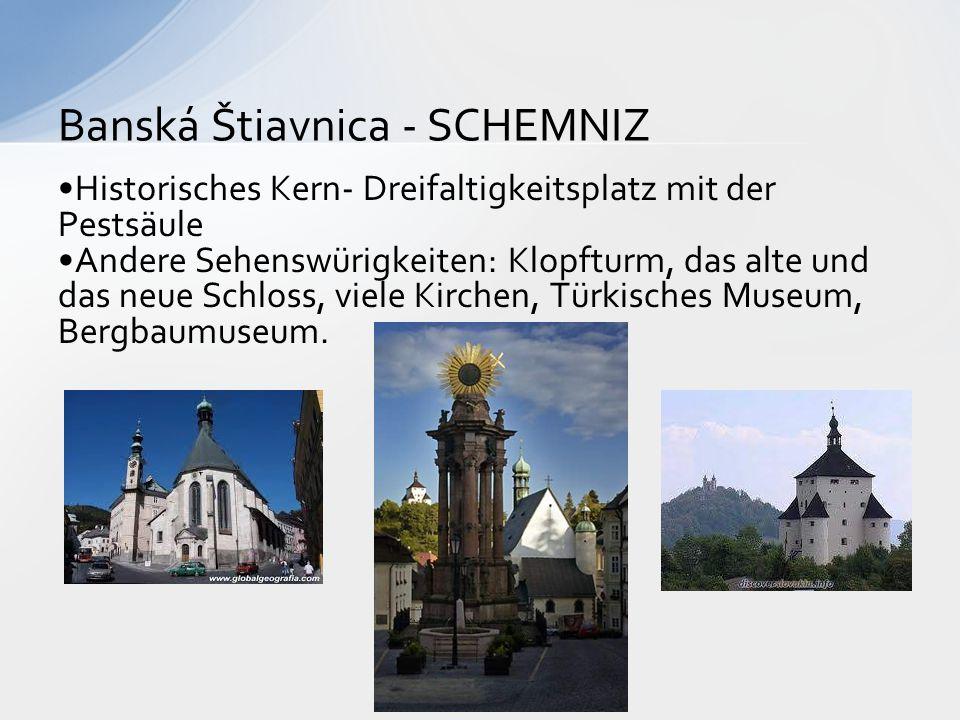 Banská Štiavnica - SCHEMNIZ