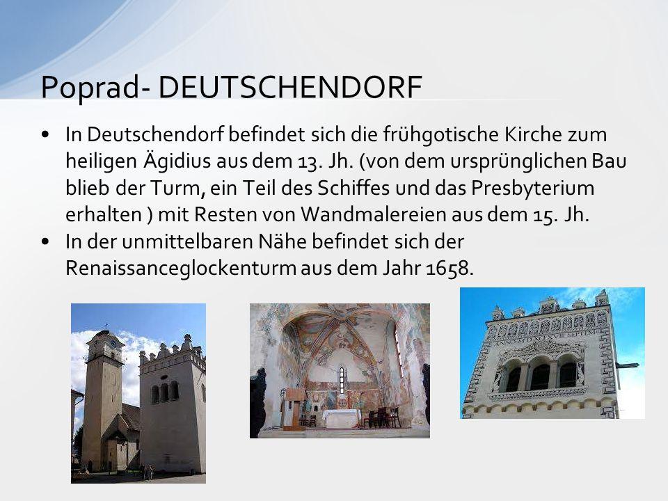 Poprad- DEUTSCHENDORF