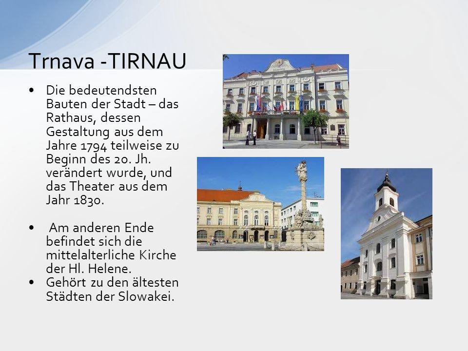 Trnava -TIRNAU