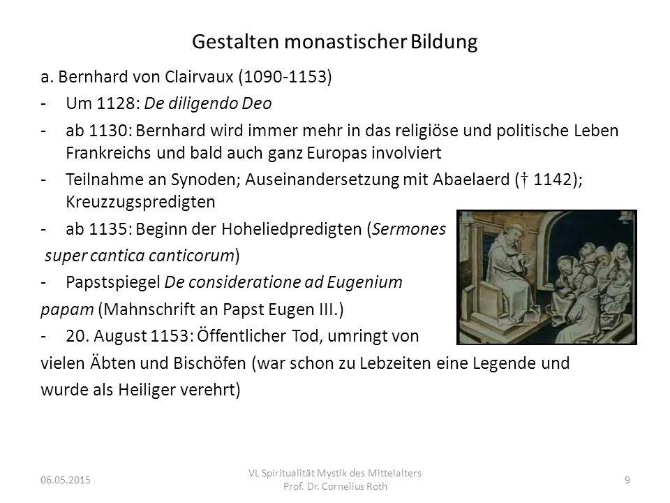 Gestalten monastischer Bildung
