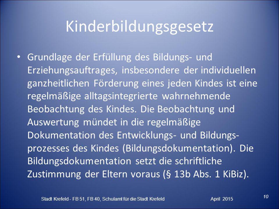 Kinderbildungsgesetz