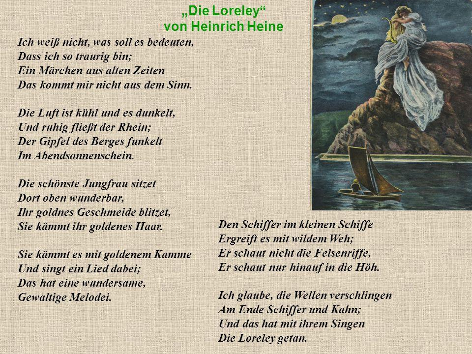 """""""Die Loreley von Heinrich Heine"""