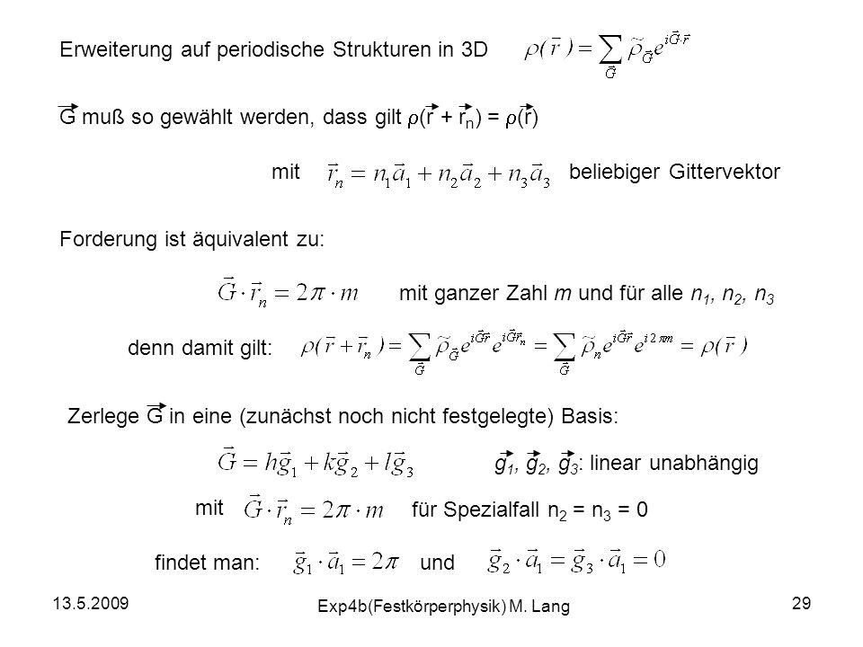 Exp4b(Festkörperphysik) M. Lang