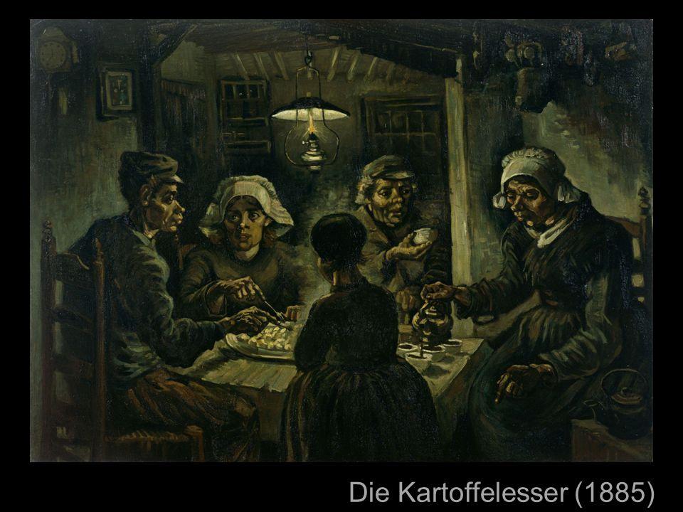 Die Kartoffelesser (1885) sehr berühmt hat viel Mühe gekostet