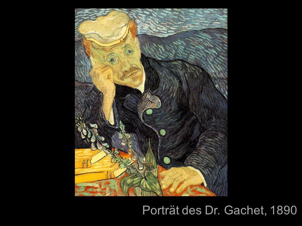 Porträt des Dr. Gachet, 1890 Unruhe Vom Impressionismus geprägt