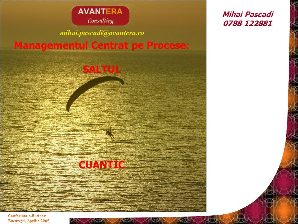Managementul Centrat pe Procese: SALTUL CUANTIC