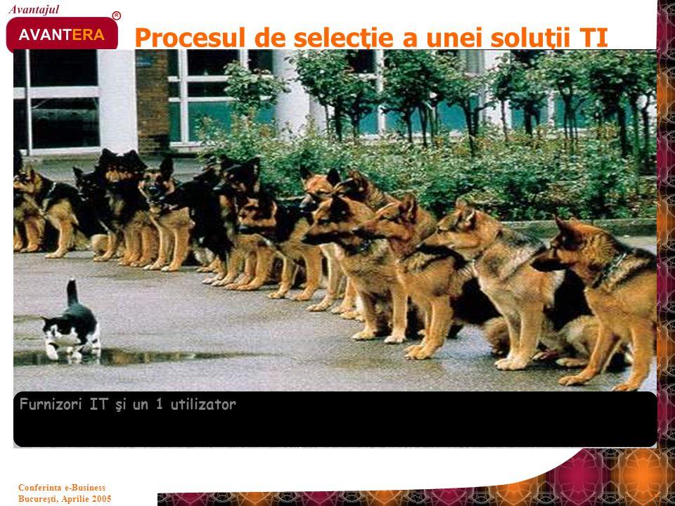 Procesul de selecţie a unei soluţii TI