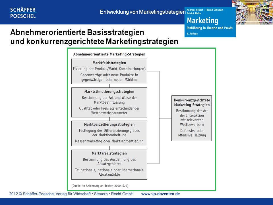 Entwicklung von Marketingstrategien