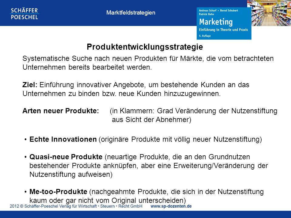 Produktentwicklungsstrategie