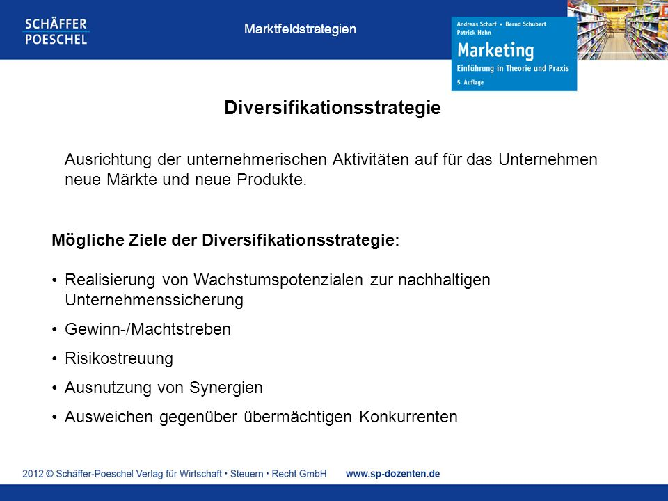 Diversifikationsstrategie