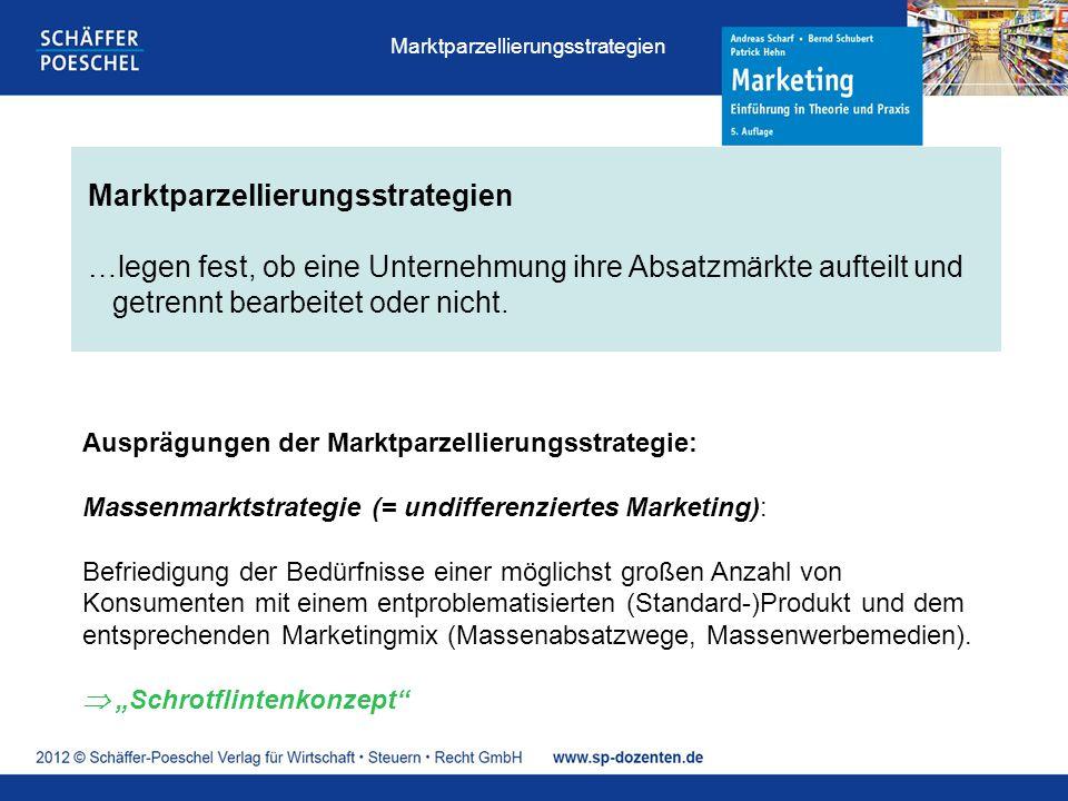 Marktparzellierungsstrategien