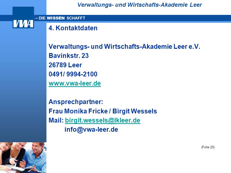 Verwaltungs- und Wirtschafts-Akademie Leer