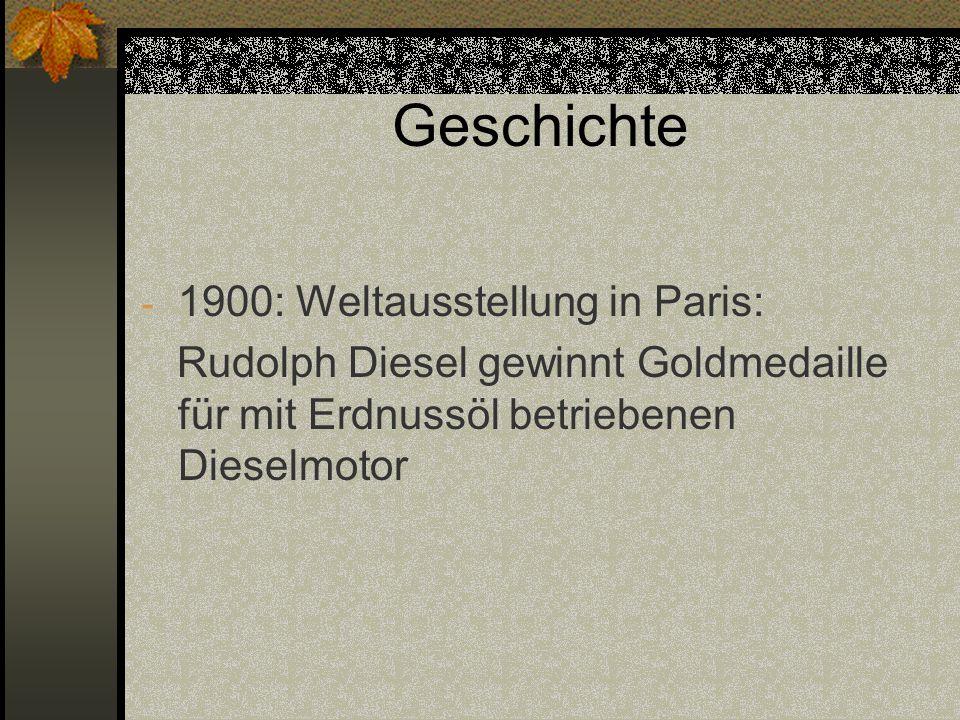 Geschichte 1900: Weltausstellung in Paris: