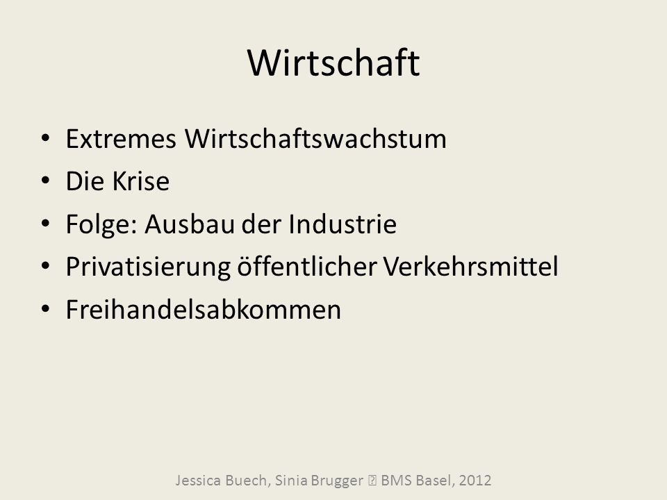 Jessica Buech, Sinia Brugger  BMS Basel, 2012
